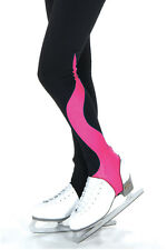 Figure Skating Pants Stirrups w. Clips Jerrys Fleece Pink Adult Large