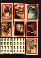 1982 Topps E.T. Extra Terrestrial Set of 9 Stickers