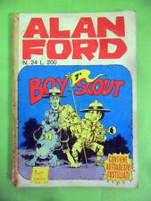 ALAN FORD N°24-GIUGNO 1971.EDITORIALE CORNO-ACCETTABILE