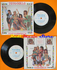 LP 45 7'' TOTO COELO I eat cannibals 1982 RADIALCHOICE TIC 10 cd mc dvd