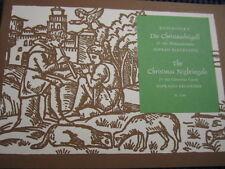 Sopran-Blockflöte-Noten-Koschinsky-Die Christnachtigall-25 alte Weihnachtslieder