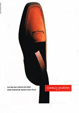 PUBLICITE ADVERTISING 045  1993  CHARLES JOURDAN  chaussures homme