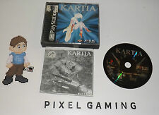 Kartia - PLAYSTATION 1 (PS1) - Complete - FREE SHIPPING