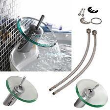 Glas Wasserfall Wasserhahn Waschtisch Armatur Waschbecken Badezimmer Küche Bad
