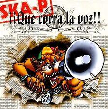 Que Corra la Voz by Ska-P (CD, Sep-2002, Bmg)