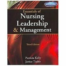 Essentials of Nursing Leadership and Management (Book Only) by Patricia Kelly...