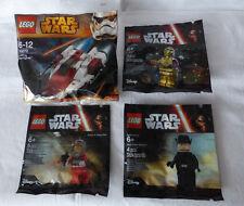 LEGO® 30272 A-Wing + 5002948 C-3PO + 5004408 + 5004406 ungeöffnet im Polybag
