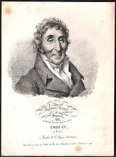 Léopold Boilly. André Thouin. Institut Royal de France. Lithographie. 1822