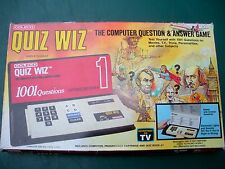 1980, Coleco  Quiz Wiz,The Computer Question & Answer Game