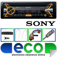 Ford Mondeo MK2 Sony Bluetooth  CD MP3 USB Car Stereo Radio & Steering Wheel Kit