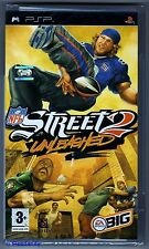 PSP NFL Street 2 Unleashed ( 2005 ) UK Pal, Brand New & Sony Factory Sealed