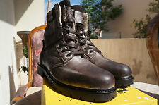 Yellow Cab AMAZ M, Bottes de motard courtes, doublure, Braun (Dark brown),i46 EU