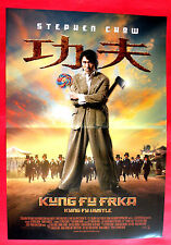 KUNG FU HUSTLE 2004 STEPHEN CHOW CHINA MARTIAL ARTS UNIQUE SERBIAN MOVIE POSTER