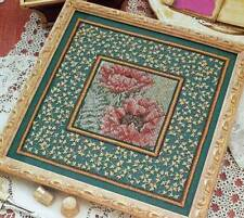 Wentzler Oriental Poppies Counted Cross Stitch Magazine Pattern FL3