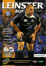 Leinster v Ospreys Magners League 7 Jan 2011 RDS, Dublin RUGBY PROGRAMME
