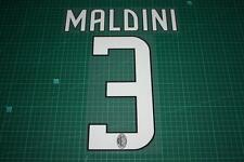 AC Milan 08/09 #3 MALDINI Homekit Nameset Printing