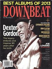 DOWNBEAT / Featuring DEXTER GORDON / BEST ALBUMS OF 2013 - January 2014 Issue