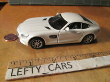 Kinsmart Mercedes-Benz White AMG GT (DOORS OPENS)(PULL BACK ACTION ) SCALE 1:36