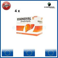 4 x ESSENSIVAL 300 mg 50 Caps Liver Detox, Essentiale Forte