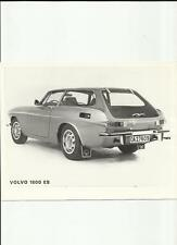 VOLVO 1800 ES ORIGINAL PRESS PHOTO, 'BROCHURE' CONNECTED