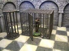 New Ziterdes 25mm Torture Cage - Round & Square Pack D&D Dwarven Forge