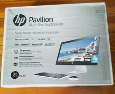 HP PAVILION 23-q113w All-in-One Desktop TouchScreen 1TB 6GB Core i3-4170T NIB
