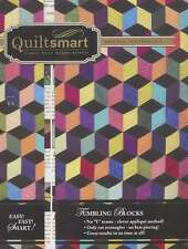 TUMBLING BLOCKS CLASSIC PACK QUILTING PATTERN, From Quiltsmart NEW