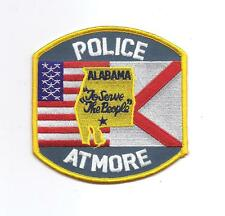**ATMORE ALABAMA POLICE PATCH**