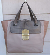 "NEW $1695 Marc Jacobs Bronze Camel ""Khaki"" Tote Large Gold Tan Nude Brown"