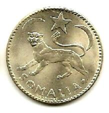 "SOMALIA 1950 SILVER ONE SOMALO ""ROMA MINT"" ""UNC""  LOW PRICE & FREE USA SHIPPING"