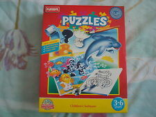 Vintage Playskool Puzzles PC CD-ROM Game Ages 3-6 years Original Big Box New
