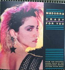 MADONNA PROMO CD CRAZY FOR YOU 9 REMIXES not REBEL HEART GHOSTTOWN