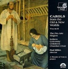 Carols from the Old & New Worlds Vol 2 / Hillier, et al (CD, Dec-1998, Harmon...