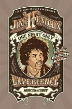 Jimi Hendrix Concert Poster One Night Only 24x36