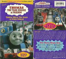 Rare Vintage Thomas Train Tank  Engine Friends Thomas Meets the Queen VHS video
