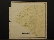 New York, Schoharie County Map, 1866, Jefferson Township Z4#49
