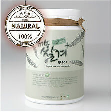 Korean Organic Rice bran Plus Powder,skin care,facial mask pack,