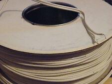 100 millones de carrete de orador Bell Cable de alambre doble 2x Figura 8 Blanco De Bajo Costo y presupuesto