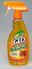 Orange Glow Wood Furniture 2 in 1 Clean & Polish 16 oz
