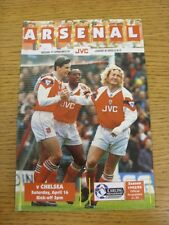 16/04/1994 Arsenal v Chelsea  (Excellent Condition)