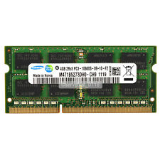 New Samsung 4GB DDR3-1333Mhz PC3-10600S  204pin Sodimm Laptop Memory Module