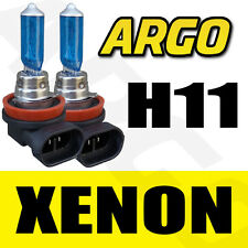 H11 711 55W XENON WHITE FRONT FOG LIGHT BULBS 12V FORD FIESTA HATCHBACK