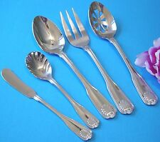 COQUILLE  by Wallace stainless sea shell 5 PC SERVING SET  Glossy Korea