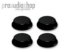 4x (FOUR) 3M round stick on adhesive rubber feet 12.7x3.5mm Black SJ5012