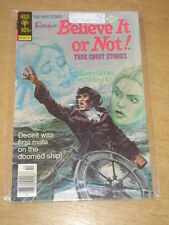 RIPLEY'S BELIEVE IT OR NOT #73 G/VG (3.0) GOLD KEY COMICS OCTOBER 1977