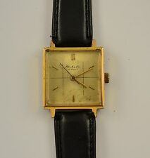VINTAGE RARE RAKETA SOVIET RUSSIAN USSR MECHANICAL WRISTWATCH GOLD PLATE 23J