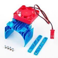 Alloy Car Heatsink Style 1/10 RC Motor Model W/ Cooling Fan-000021B Adjustable