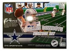 Dallas Cowboys NFL 64 Piece OYO End Zone Toy Figure Set