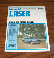 ford laser service and repair  manual