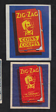 Ancienne étiquette allumettes  de paquet Belgique  BN9228 Le Zouave Zig Zag